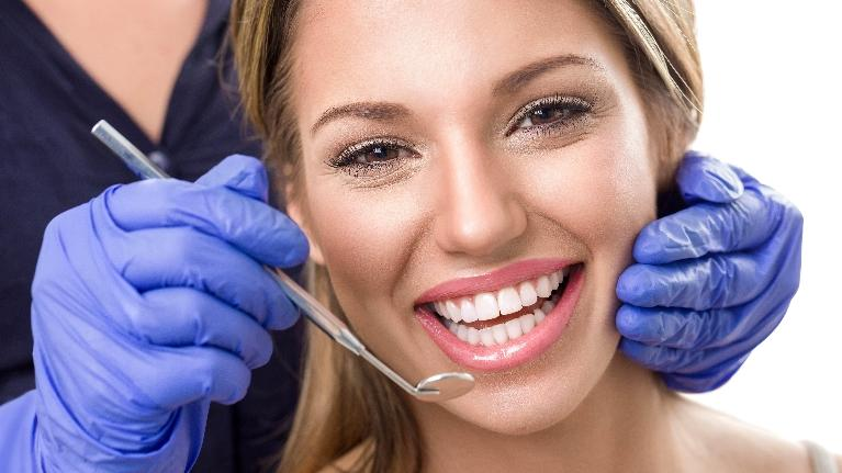 Woman Having Procedure | Cook Family and Cosmetic Dentistry