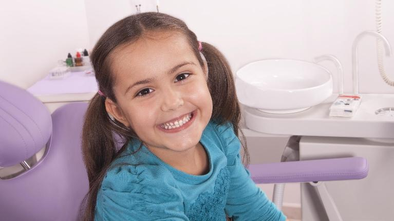 Child in Dentist Office | Cook Family Dental