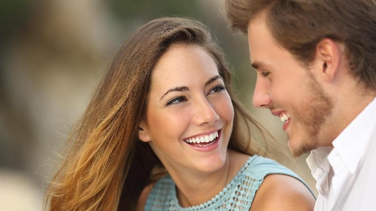 Couple Smiling | Cook Family and Cosmetic Dentistry