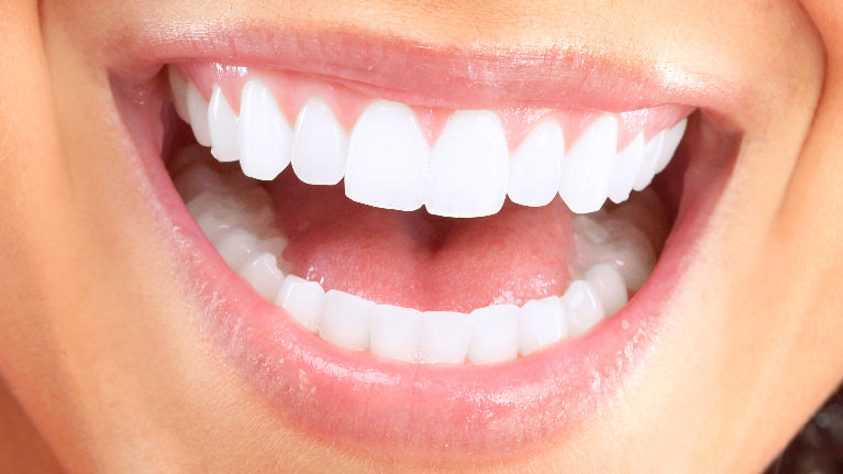 Close Up of Smiling Woman | Cook Family Dental