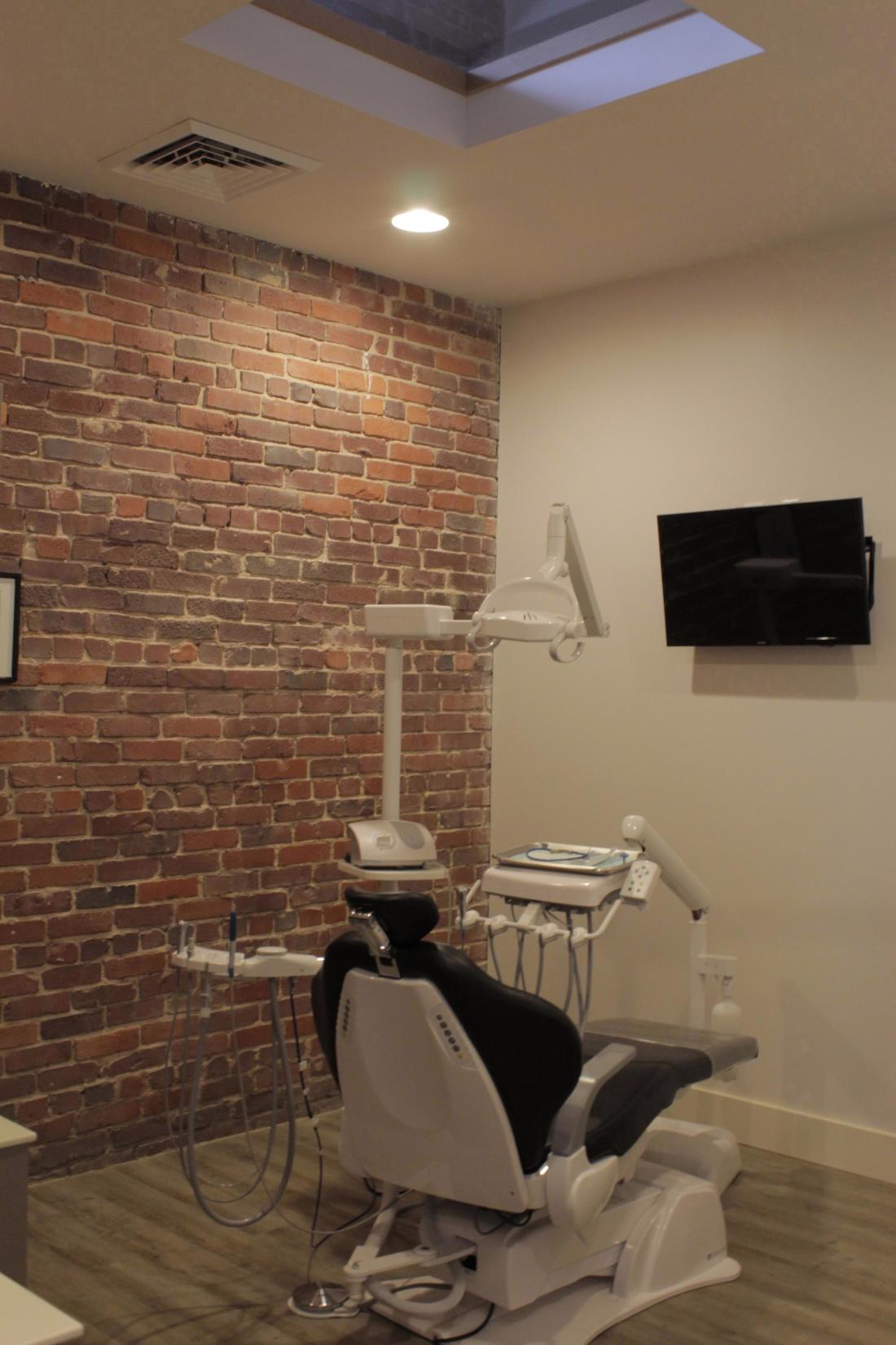 The Exam Room with Sky Light in Birmingham, AL at Cook Family Dental